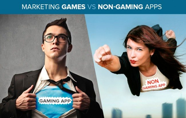 It's All Fun & Games – Marketing Games vs. Non-Gaming Apps