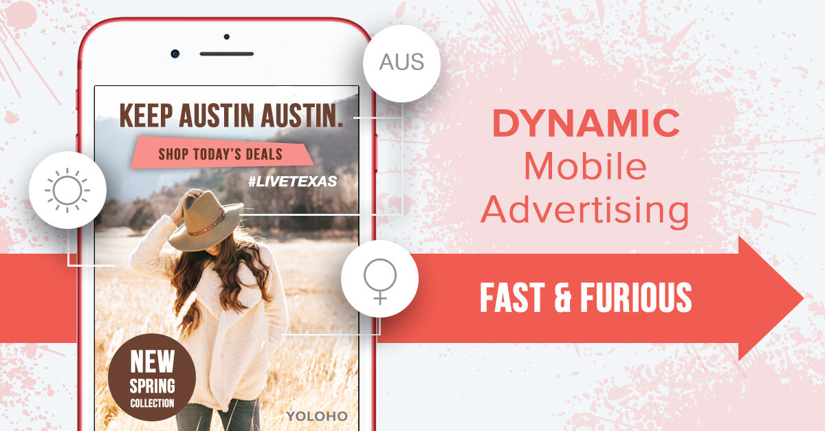 Dynamic Mobile Advertising: Fast & Furious