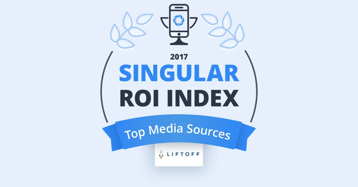 Liftoff Recognized as Top Performing Ad Channel in 'The 2017 Singular ROI Index'