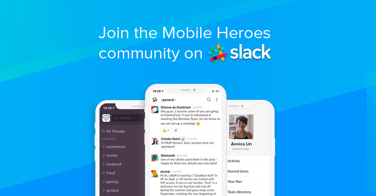 Join the Mobile Heroes Slack Community