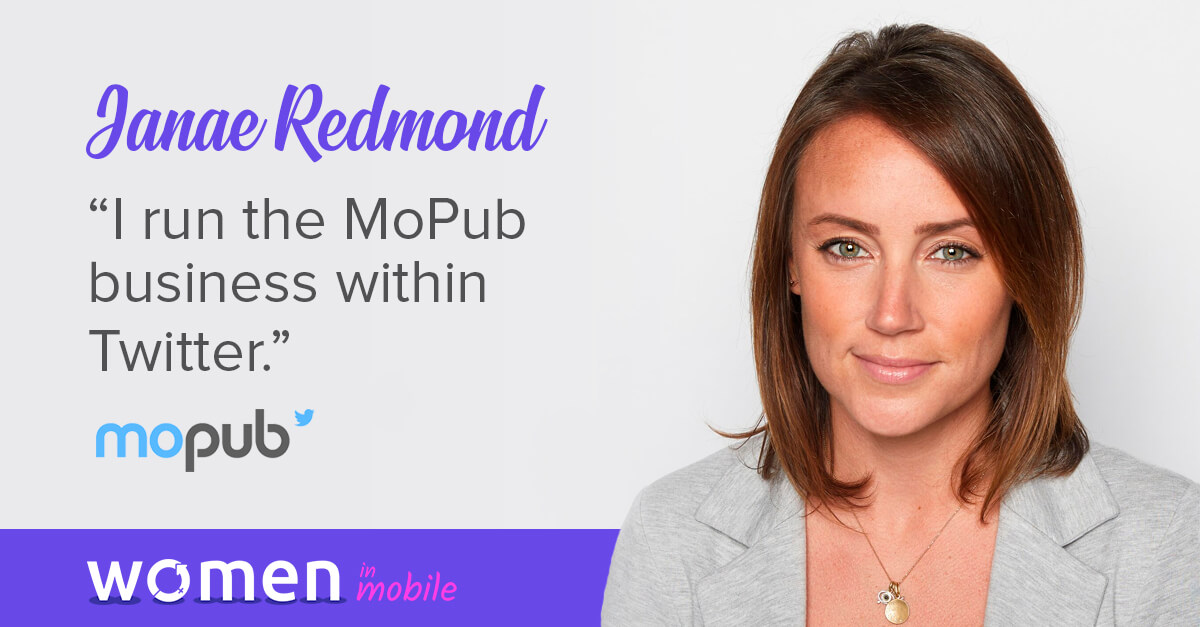 Women in Mobile: Career Lessons from Twitter's VP Janae Redmond