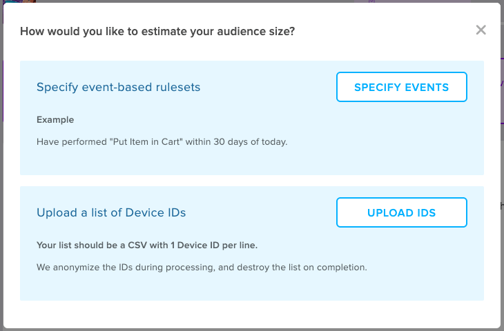 Liftoff Audience Estimator